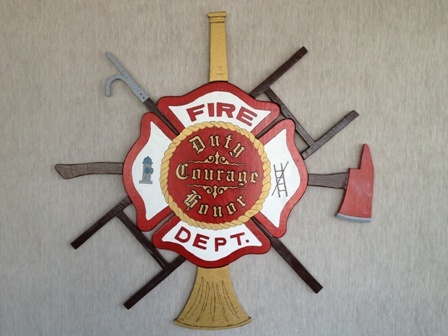 Sign with Fire Motto