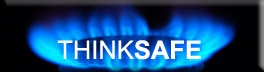 Think safe - natural gas burner