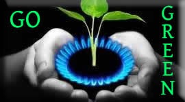 go green with natural gas