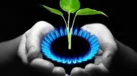 Go green with Natural Gas logo