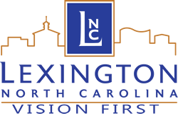 Clipboard with City Council's 2013 Goals and Lexington Logo