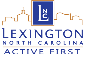 "Lexington Parks and Recreation ""Active First"" logo"