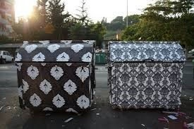 Public Art - Decorated Dumpsters