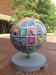 Public Art - Globe Sculpture