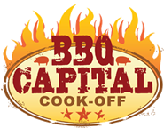 BBQ Cook-off Logo with flame