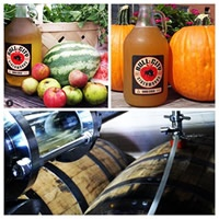 Cull City Ciderworks, kegs, fruit and cider