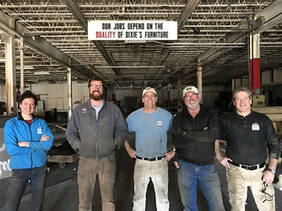 Salvage Dawgs at LFI Plant1