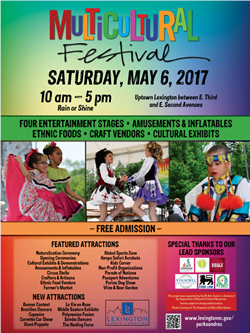 Multicultural Festial Poster