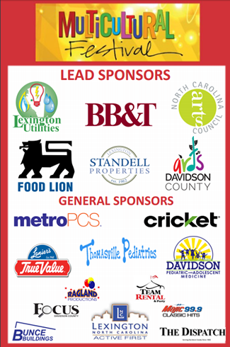 Lexington Multicultural Festival Sponsors