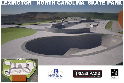Skate/BMX Park in Lexington NC