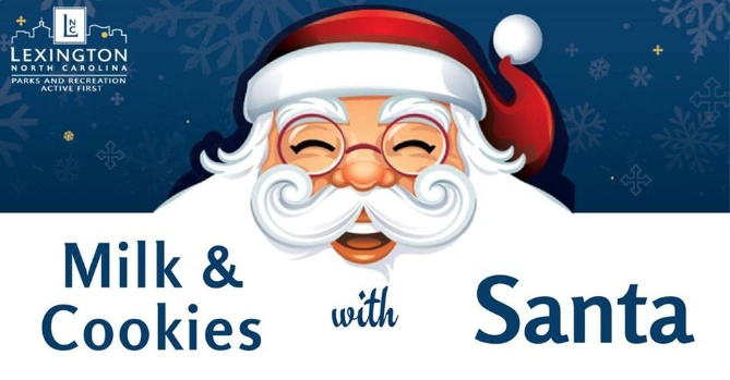 Meet Santa at Lexington Parks and Recreation!