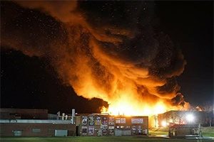 City Of Lexington Nc News The Fire At Dixie Furniture