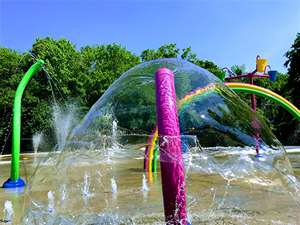 Washington Park Splash Pad