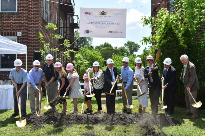 Parkview Groundbreaking