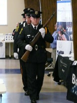 LPD Honor Guard at Training Center