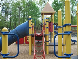 Finch Park Playground in Lexington NC