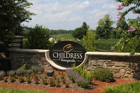 Childress Vineyards Sign