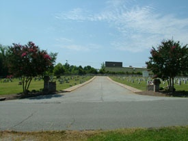 entrance to S. Lexington Cemetery  034