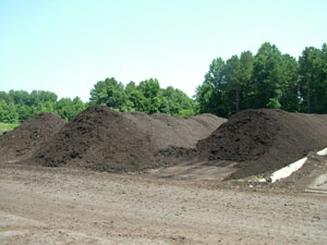 Piles of Compost