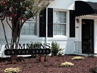 """Commons on the Green"" sign"