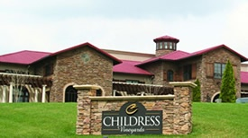 Childress Vineyards front view