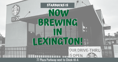 Starbucks is Now Brewing in Lexington