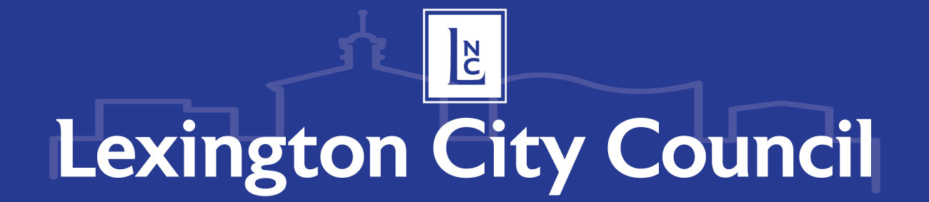 Lexington City Council Banner